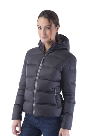 Contrast padded women Jacket